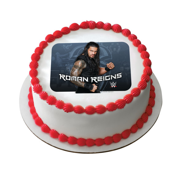 WWE™ Roman Reigns PhotoCake® Edible Image®