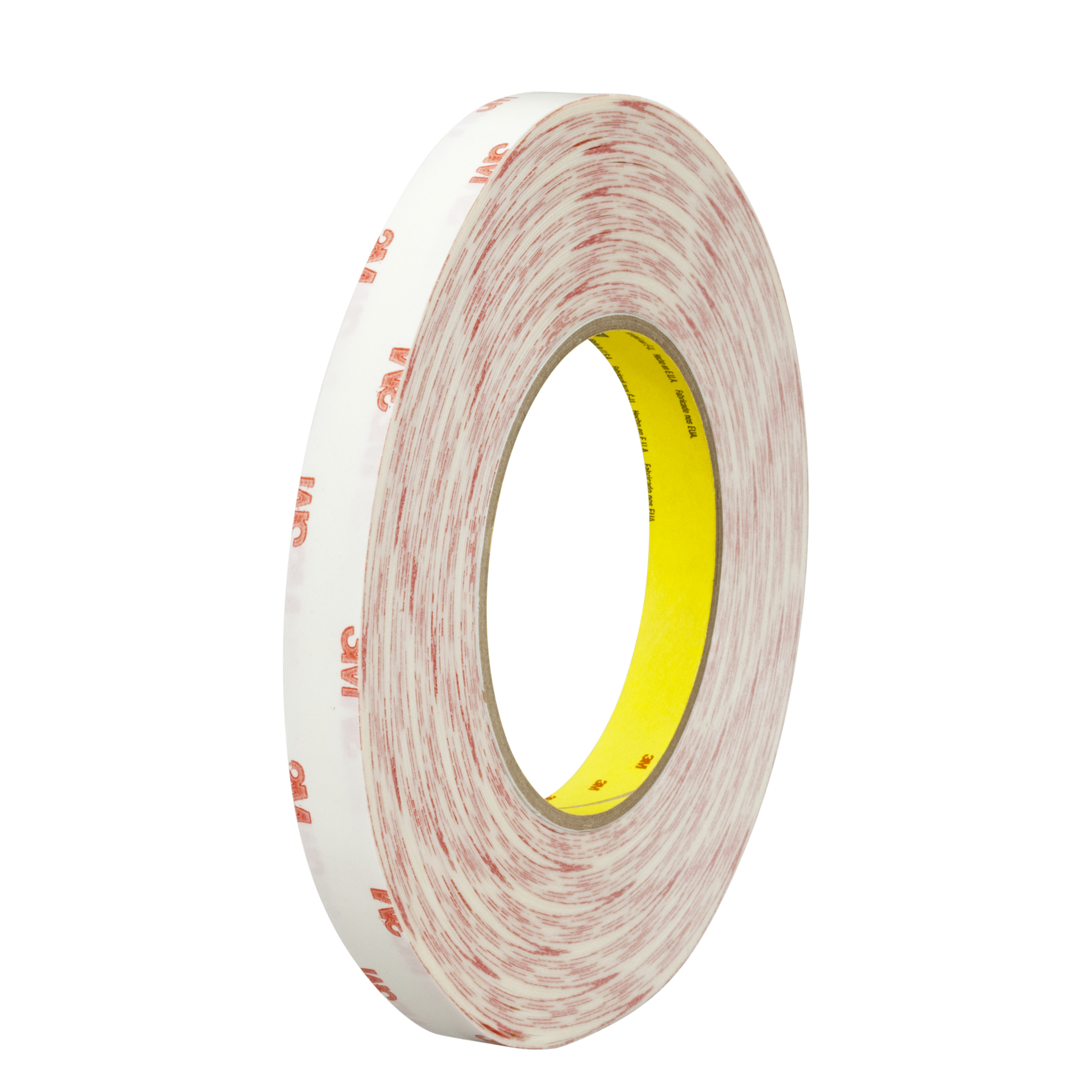 3M™ Double Coated Tissue Tape 9456, Clear, 4 mil, Roll, Config