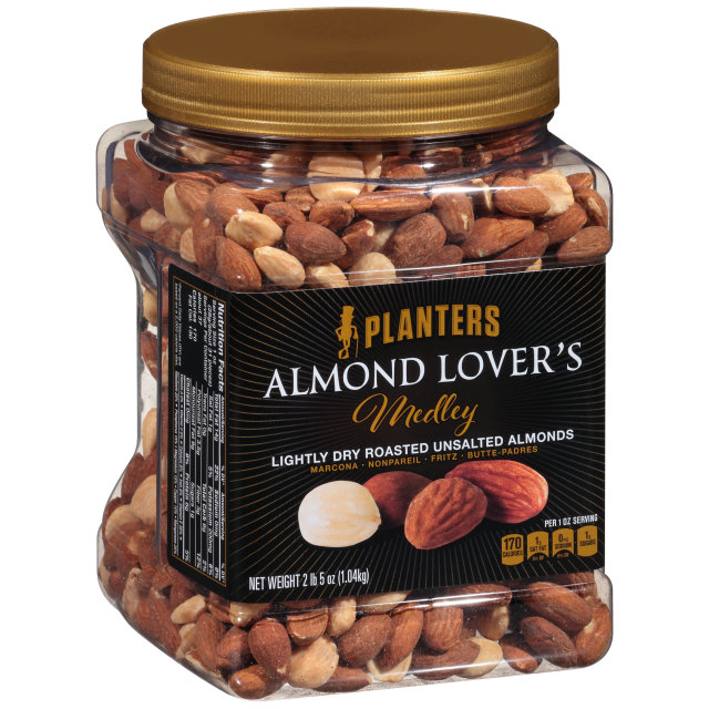 PLANTERS Almond Lover's Medley 37 oz Jar