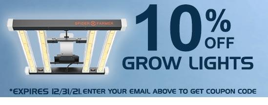 10% Off Grow Lights