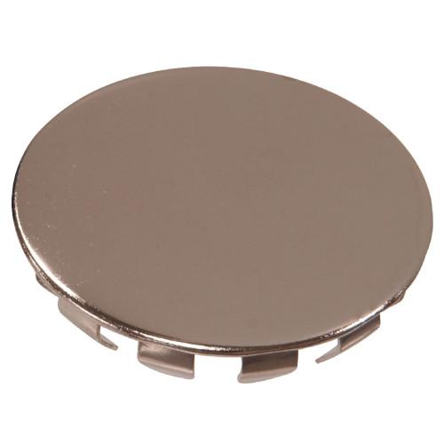 Nickel-Plated Metal Hole Plug (1/4