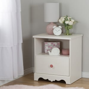 Lily rose - Table de chevet 1 tiroir