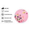 Disney Kids Plate and Bowl Set, Minnie Mouse, 4-piece set slideshow image 7