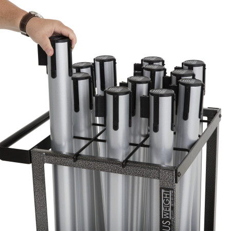 Statesman Cart Bundle - Silver Steel 15