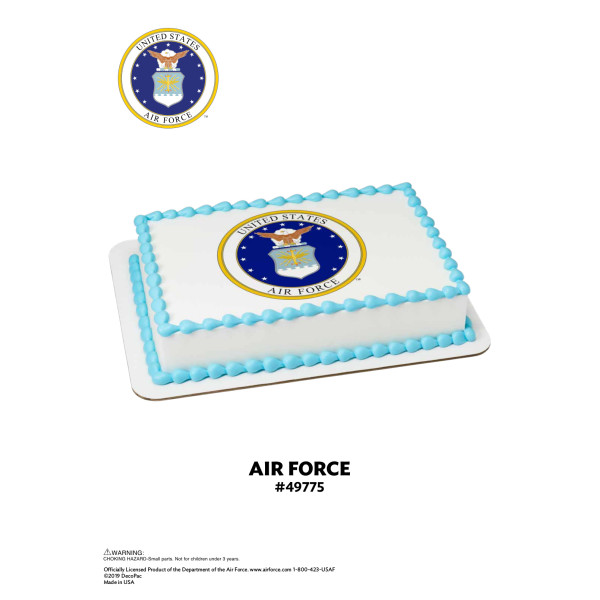 United States Air Force™ Edible Image® The Magic of Cakes® Page