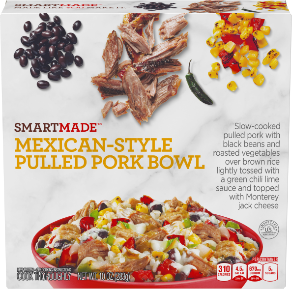 MEXICAN-STYLE PULLED PORK BOWL