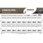 "Stainless Steel Button-Head Cap Screws Assortment (#6-32 thru 3/8""-16 Thread)"