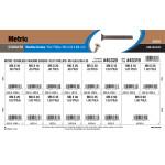 Stainless Phillips Flat-Head Metric Machine Screws Assortment (M5-0.80 & M6-1.00)