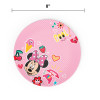 Disney Kids Plate and Bowl Set, Minnie Mouse, 4-piece set slideshow image 5
