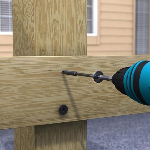 LumberTite Heavy Duty Wood Screw (1/4