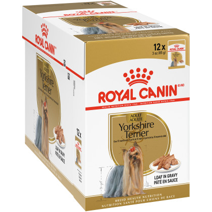 Yorkshire Terrier Pouch Dog Food