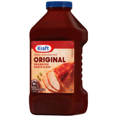 Kraft Original Slow-Simmered Barbecue Sauce and Dip, 82.5 oz Bottle