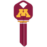 NCAA University of Minnesota Key Blank