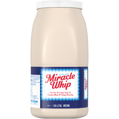 Miracle Whip Original Dressing 128 fl oz Jug