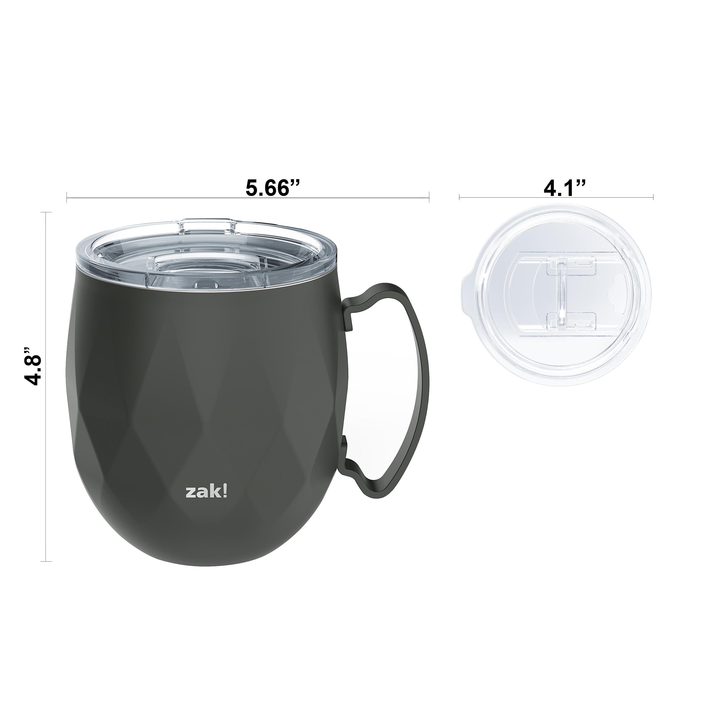 Fractal 19 ounce Mule Mug, Charcoal slideshow image 9