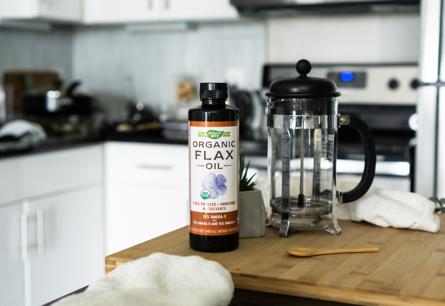 Premium Organic Flax Oil