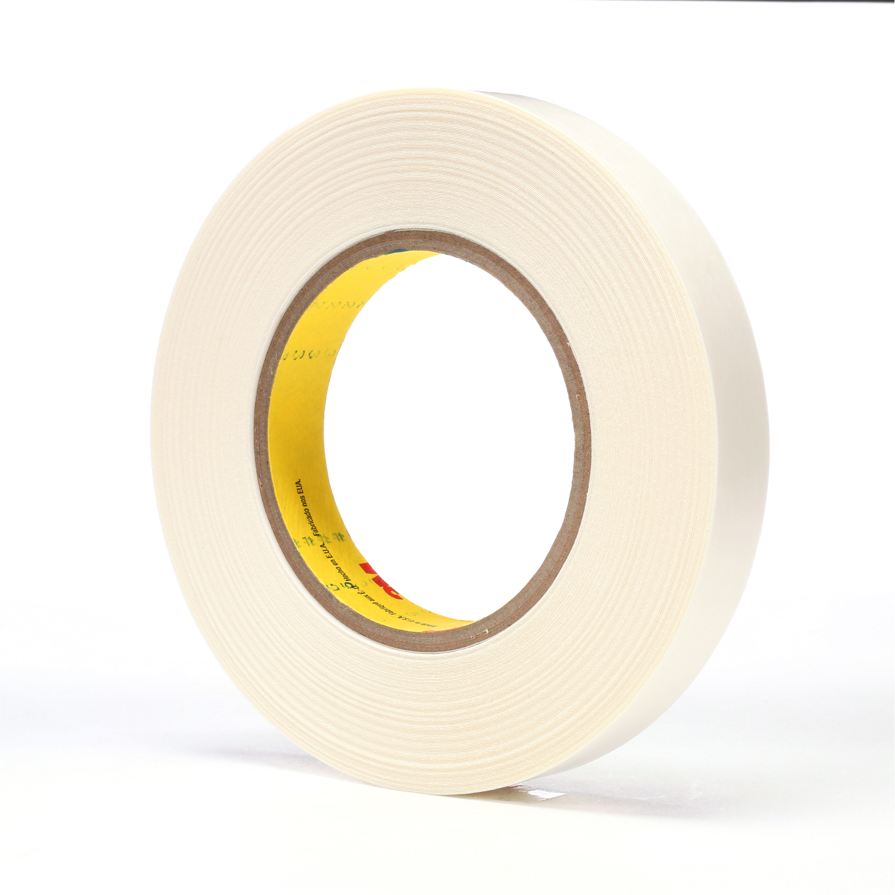 3M™ Double Coated Tape 9579, White, 3/4 in x 36 yd, 9 mil, 48 rolls per case