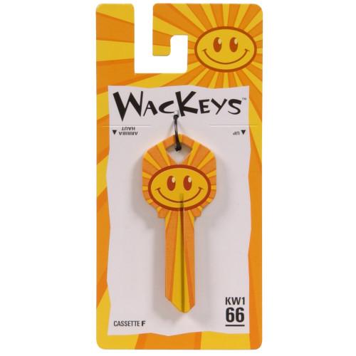 WacKey Smiley Face Key Blank Kwikset/66 KW1