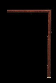 Antica Fillet Dark Woodtone 3/8