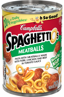 SpaghettiOs® with Meatballs