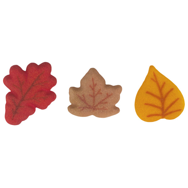Shimmer Leaves Assortment Dec-Ons® Decorations