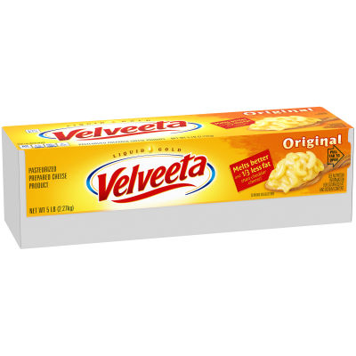 Velveeta Original Cheese 5 lb Box