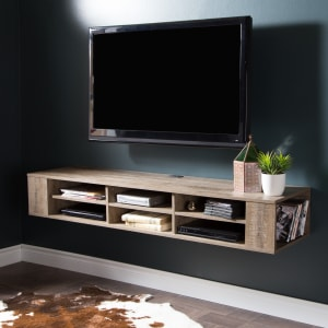 """City Life - 66"""" Wide Wall Mounted Console"""