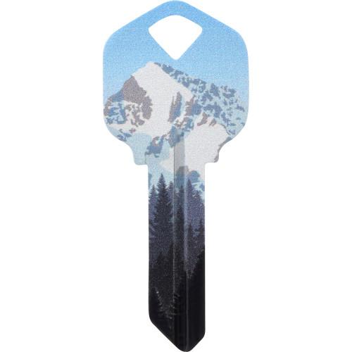 WacKey Mountain Key Blank Kwikset/66 KW1