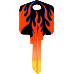Kool Keys Flame Key Blank