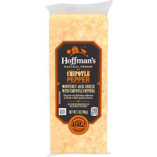 Hoffman's Natural Chipotle Pepper Monterey Jack Cheese 7 oz Wrapper