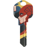 Marvel's Captain Marvel Profile Pic Key Blanks