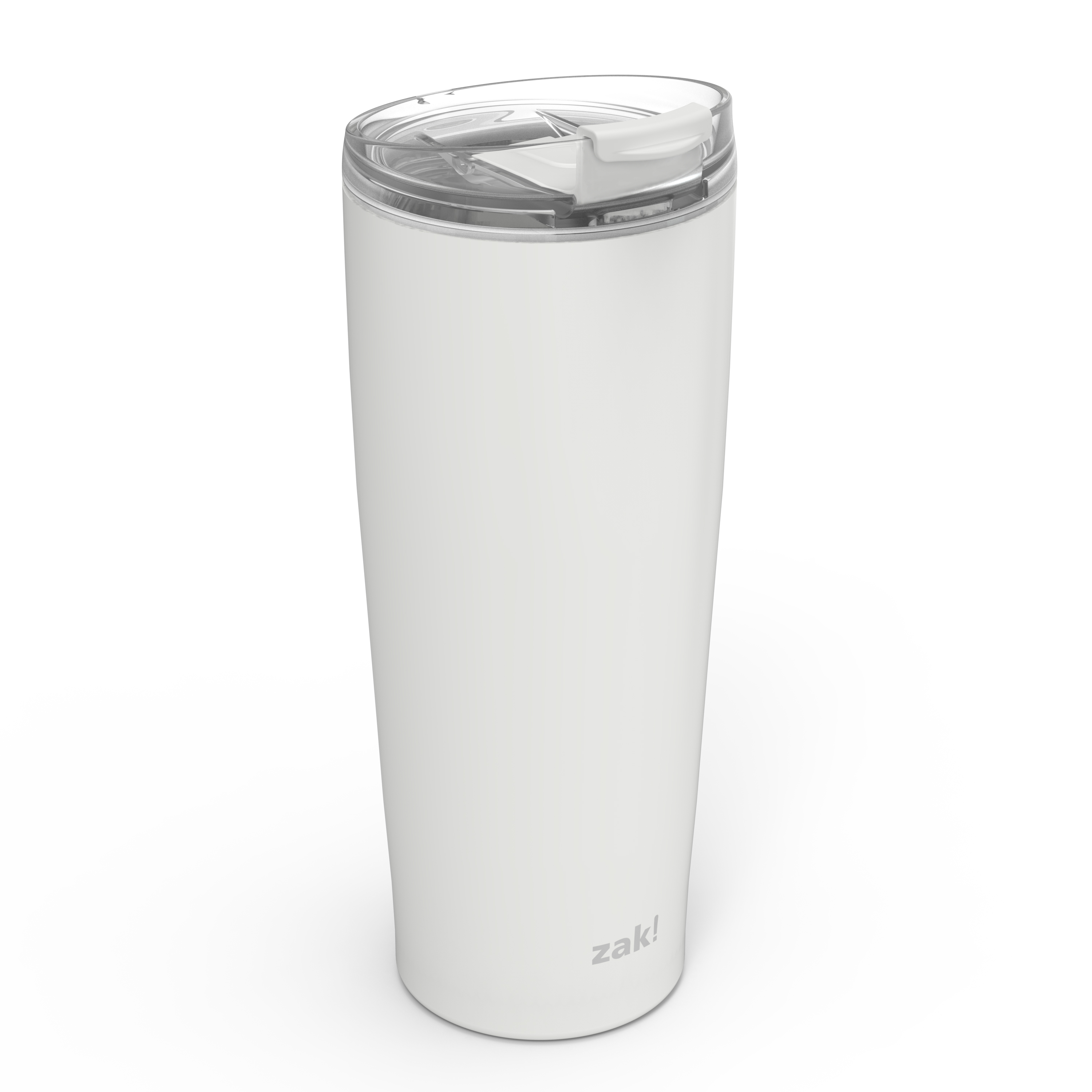 Aberdeen 30 ounce Vacuum Insulated Stainless Steel Tumbler, Gray slideshow image 4