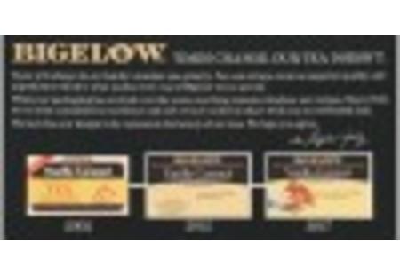 Front of Vanilla Caramel tea box