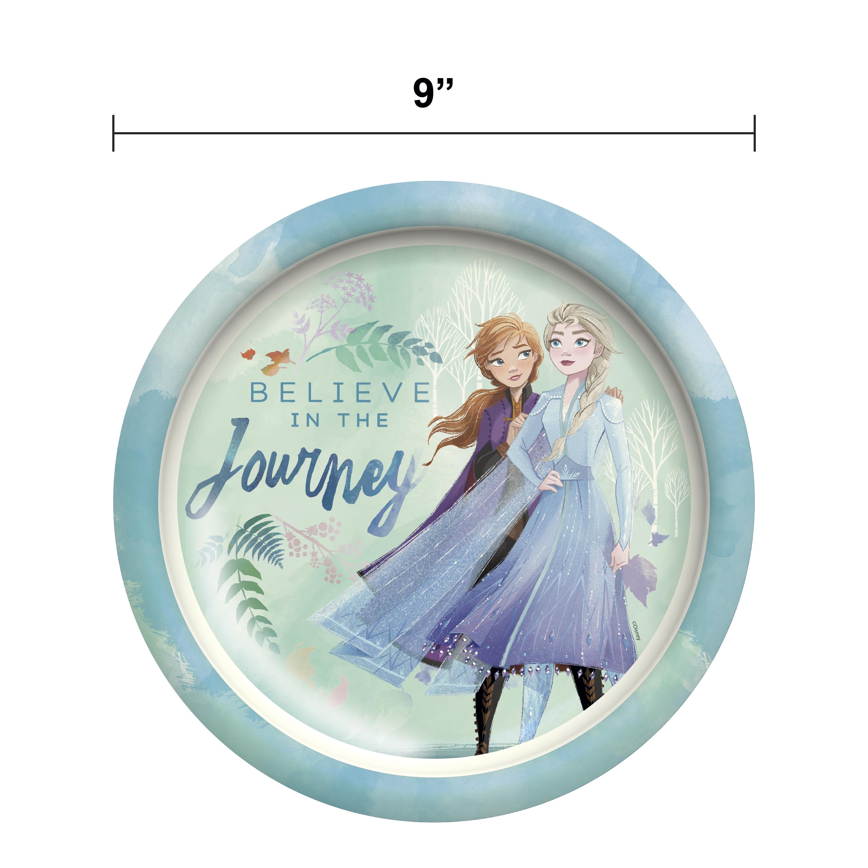 Disney Frozen 2 Movie Kids Plate and Bowl Set, Anna & Elsa, 2-piece set slideshow image 10