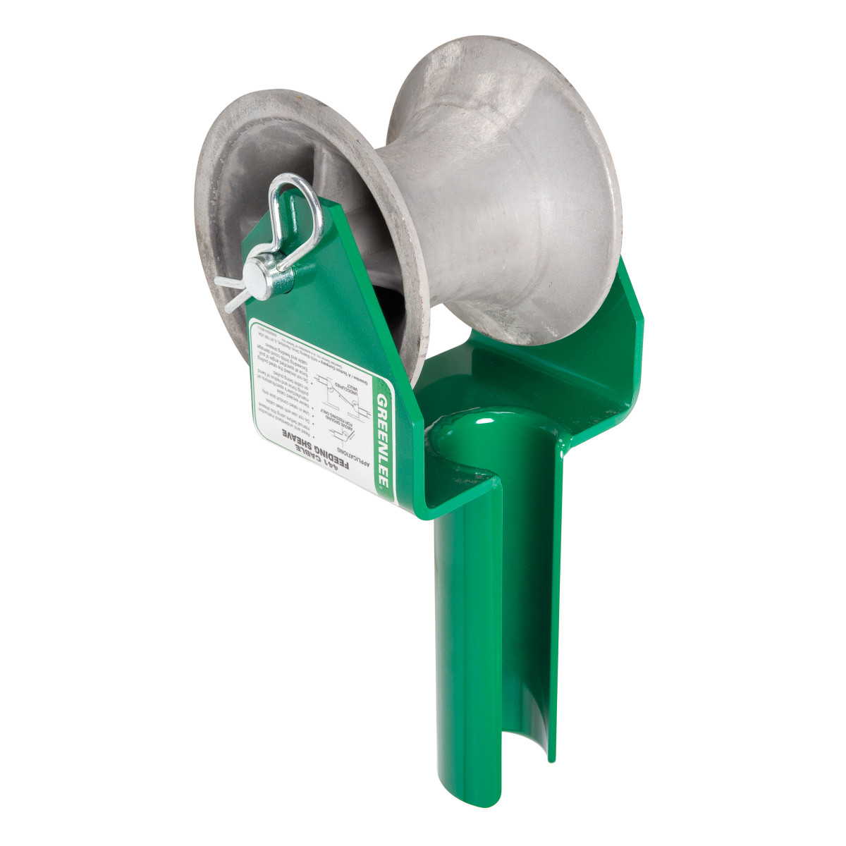 """Greenlee 441-2-1/2 Cable Feeding Sheave, 2-1/2"""" Conduit"""
