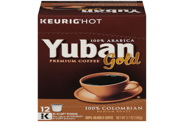 Yuban Gold 100 Colombian Coffee K Cup 12 Count My Food