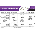 Cotterless Steel Hitch & Linchpins Assortment (Various Sizes)