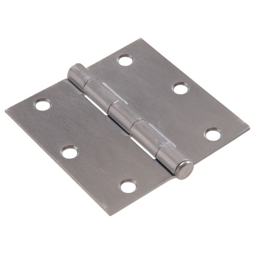 Hardware Essentials Residential Door Hinges with Removable Pin Satin Chrome 3