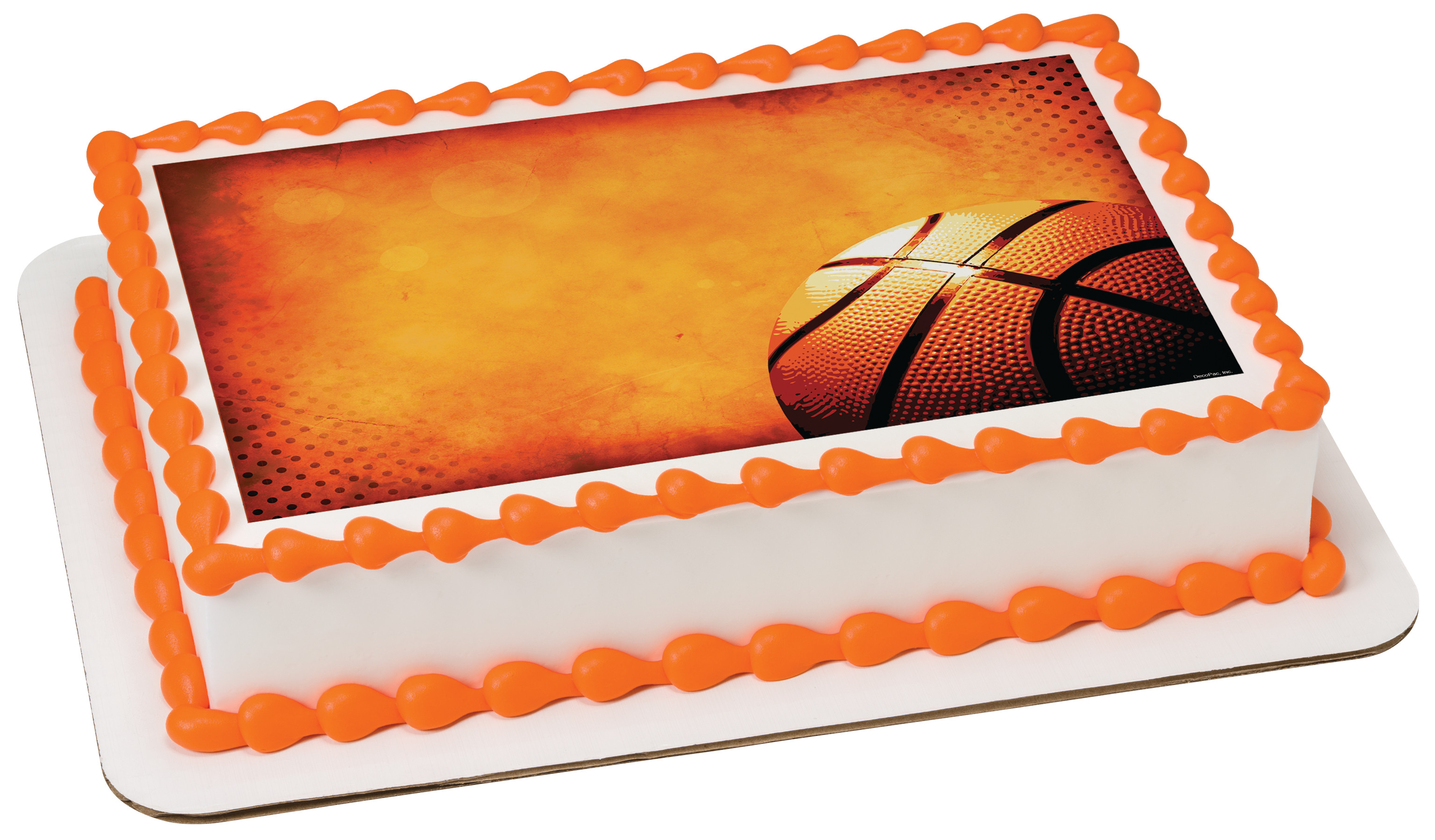 Basketball Photocake 174 Edible Image 174 Decopac