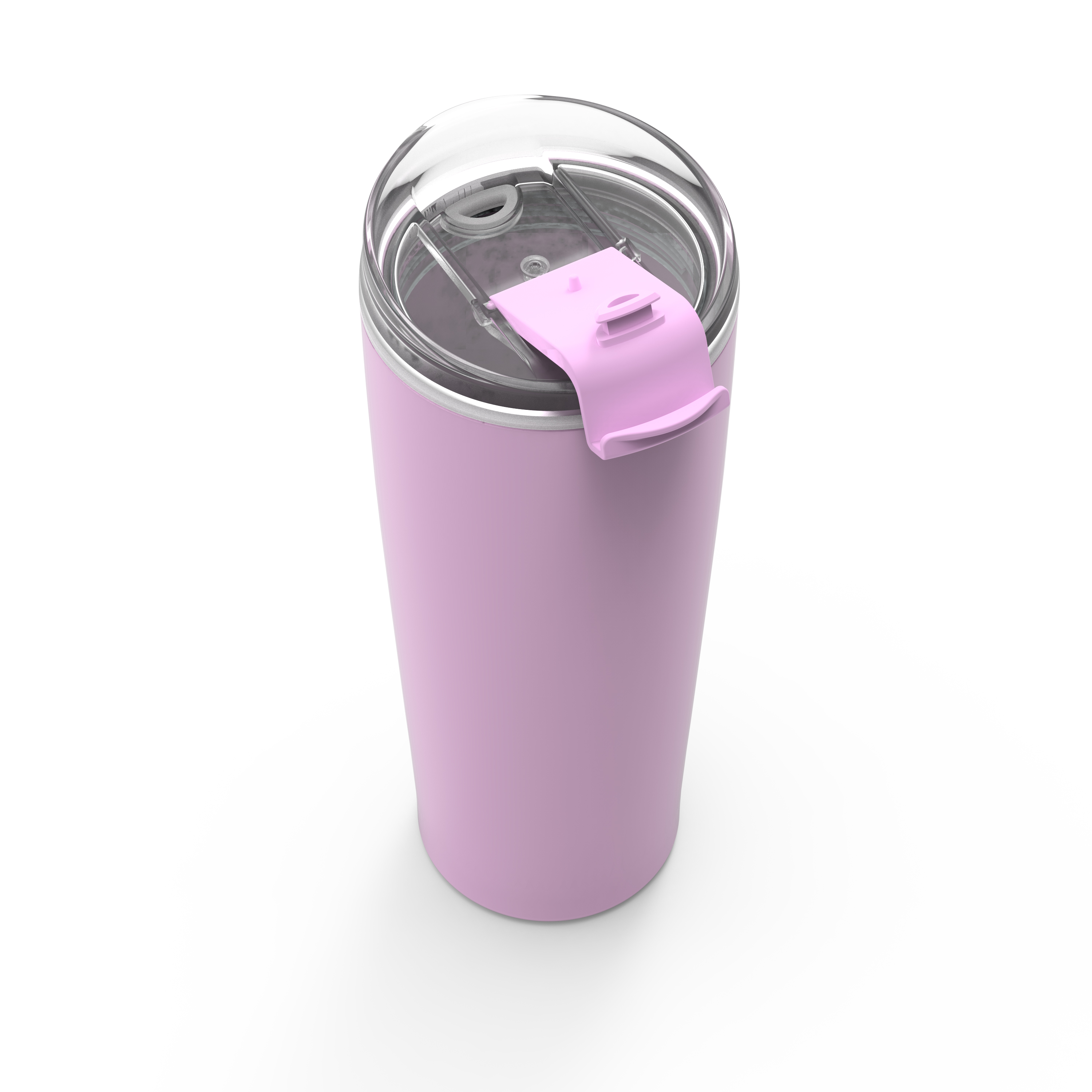 Aberdeen 24 ounce Vacuum Insulated Stainless Steel Tumbler, Lilac slideshow image 4