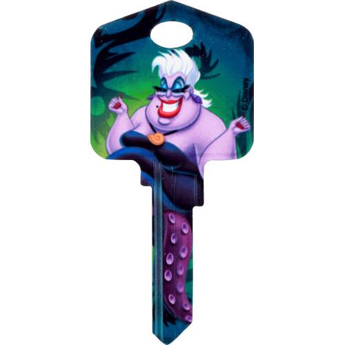 Disney Ursula Key Blank Kwikset 66/97 KW1/10