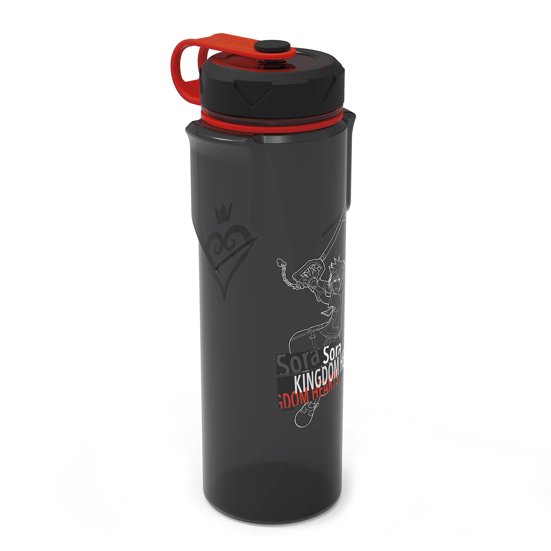 Kingdom of Hearts 36 ounce Reusable Plastic Water Bottle, Sora slideshow image 3