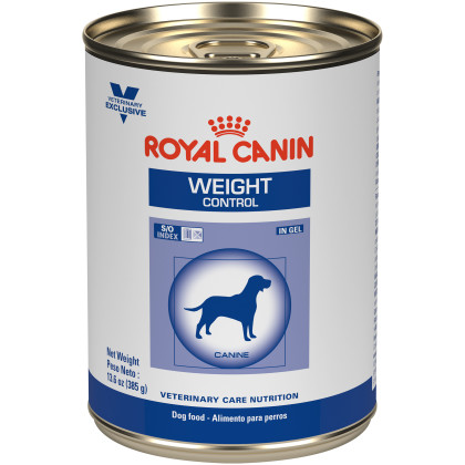 Weight Control in Gel Canned Dog Food