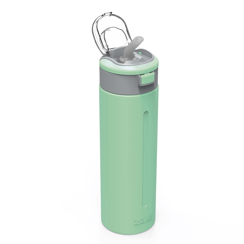 Genesis Vaccum Insulated Stainless Steel Water Bottle, Neo Mint slideshow image 3