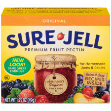 Sure-Jell Original Premium Fruit Pectin 1.75 oz Box