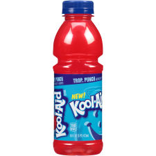 Kool-Aid Tropical Punch Ready-to-Drink Soft Drink 12 - 16 fl oz Bottles