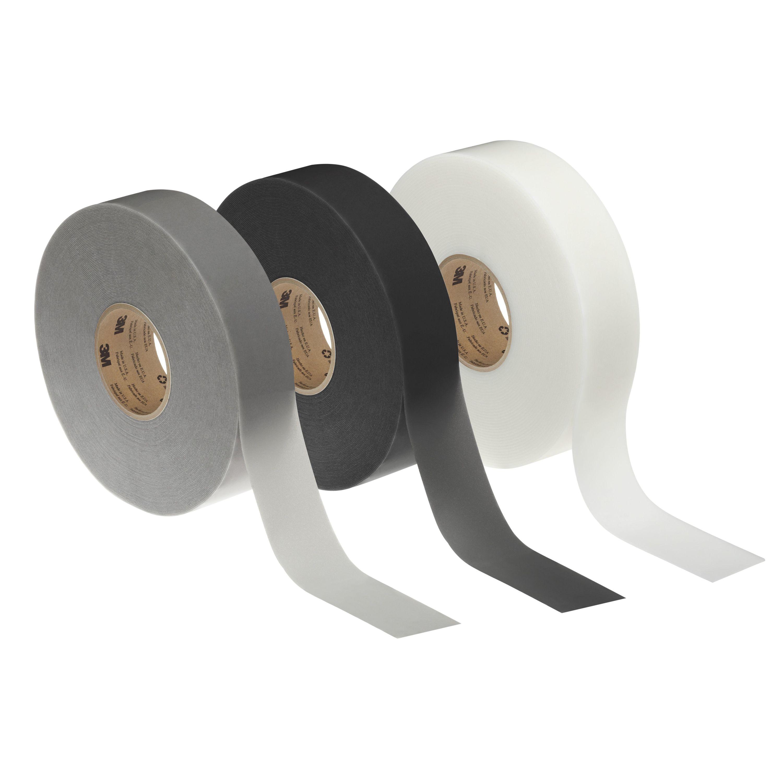 3M™ Extreme Sealing Tape Demo Strips, White/Gray/Black, 10 Strips per Bag