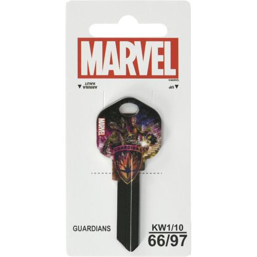 Marvel's Guardians of the Galaxy Kwikset 66/97 KW1/10 Key Blank