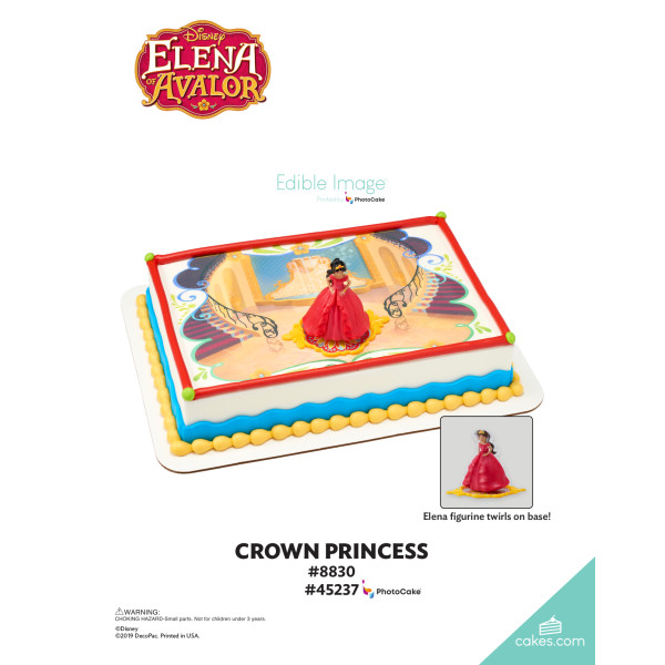Elena of Avalor Crown Princess DecoSet® The Magic of Cakes® Page