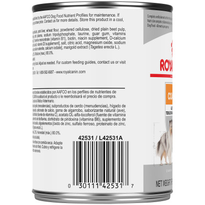 Royal Canin Canine Care Nutrition Coat Care Canned Dog Food